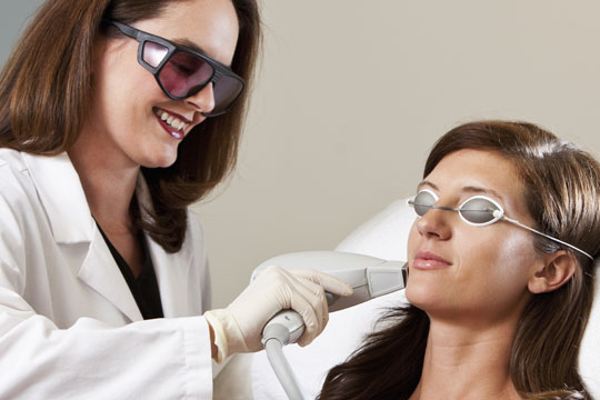 Body treatments - Laser hair removal